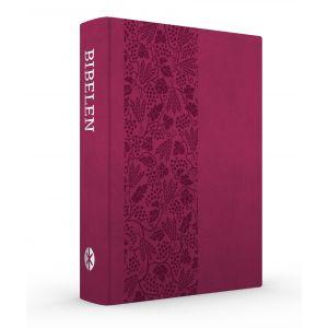 Bibelen på Hverdagsdansk, trend kunstlæder, vinrød