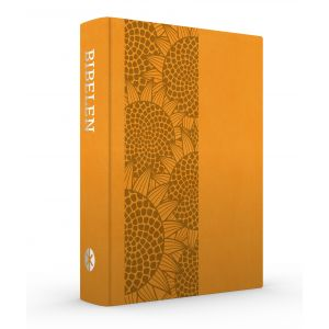 Bibelen på Hverdagsdansk, trend kunstlæder, orange