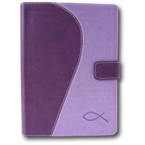 Bibelen på Hverdagsdansk (lilla/lilla PU-skind)