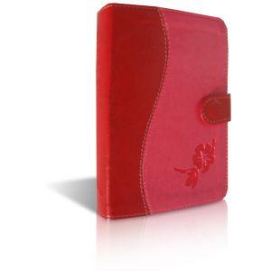 Bibelen på Hverdagsdansk (lommeformat i rødt/pink PU-skind)