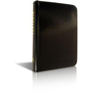 Bibelen på Hverdagsdansk (lommeformat sort m/lynlås)