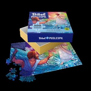 Jesus går på vandet - puslespil med 500 brikker