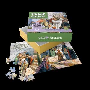 Jesus velsigner de små børn - puslespil med 1000 brikker